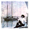 jordannamorgan: James Cagney and a sailboat. (Ship)