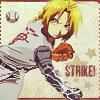 "jordannamorgan: Edward Elric, ""Fullmetal Alchemist"". (FMA Baseball)"