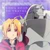 "jordannamorgan: Edward and Alphonse Elric, ""Fullmetal Alchemist"". (FMA Long Road)"
