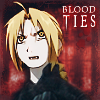 "jordannamorgan: Edward Elric, ""Fullmetal Alchemist"". For my ""Blood Ties"" fanfiction novel. (FMA Blood Ties)"
