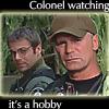 sallye: (colonel watching)