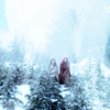 oparu: (ouat snow ruby snowy trees)