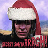 hlh_shortcuts: The Kurgan in a santa hat. Text: Secret SantaRRRGH! (secret santarrrrrrrrrrrrrrrrrr)