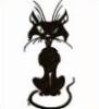 grouchiegrrl: Black cartoon cat (Default)
