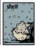 umbo: Aja Hawkeye lying on his back in snow (Hawkguy on back)