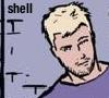 umbo: Aja Hawkeye smirking (Hawkguy smirking)