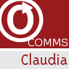 otw_staff: 'Comms' and 'Claudia' written beneath the OTW Logo (Claudia)