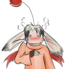 tiamat_shot: blushy moogle (did someone order fried brain)