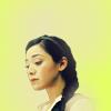 maryaminx: nancy with a halo/yellow background (angel)