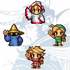 auronlu: Four warriors of light from Final Fantasy I (ffi)