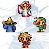 auronlu: Four warriors of light from Final Fantasy I (ffi)