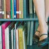 yomumokaku: (in the library)