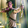 airawyn: (Arrow: Ollie doing archery)