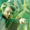 chaila: Minerva McGonagall, wand pointed, directing suits of armor like a badass. (hp - minerva)