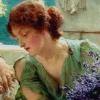 "carmarthen: a Roman lady from the Alma-Tadema painting ""Unwelcome Confidences"" (femslash, alma-tadema)"