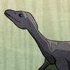 carmarthen: a baaaaaby plesiosaur (dinosaurs)