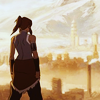 starlady: Korra looks out over Republic City (legend of korra)