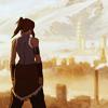 starlady: Korra looks out over Republic City (legend of korra)