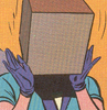 sunaya: (Lois Lane has a BOX on her head)