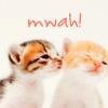 timeasmymeasure: kitty kisses (stock: kitty kisses)