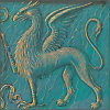 quillori: medieval illustration of a gryphon (stock: gryphon)