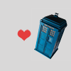 harbek: The TARDIS and a heart (Default)