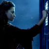 kass: Oswin knocking on the TARDIS door (Clara)