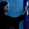 kass: Oswin knocking on the TARDIS door (Clara)