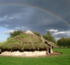 tehomet: (Flag Fen Bronze age reconstructed roundh)