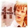 lanjelin: Eleventh doctor (eleven is prime)