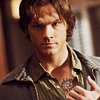 lanjelin: Sam Winchester showing his tattoo (Sam Winchester)