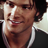 lanjelin: Sam Winchester smiling (Sam smiling)