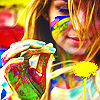 metatwaddle: (girl with paint and dandelion)