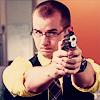 lionessvalenti: Dan with a gun. (AoC:dan gun)