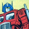 ilyena_sylph: bust level shot of comics Optimus Prime  (Transformers: Optimus prime)