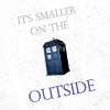 "falcon_horus: ""It's smaller on the outside"" - Clara (TARDIS) (Default)"