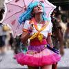 electra: Kirsten Dunst walks through Akiba (magical girl)