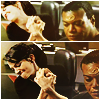 minxy: Teal'c and Vala armwrestling.   (Teal'c and Vala, armwrestling)