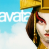 sasha_feather: Avatar Kyoshi from avatar: the last airbender cartoon (Lady avatar)