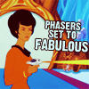 starlady: animated uhura: set phasers to fabulous (set phasers to fabulously awesome)