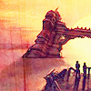 "owlmoose: icon by <user site=""livejournal.com"" name=""parron""> (ffx - mi'ihen sunsent, ffx - mi'ihen sunset)"