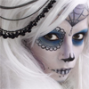 brokenchrysalis: bw (honest) (|ooc| day of the day makeup)