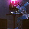 swordage: Blurr drinking alone. (tf blurr at a bar)