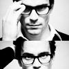vindicated: men with glasses look so smart. (KNEEL :D)
