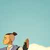"""mitsubachi: Sokka from Avatar holding his hand out as if to say """"talk to the hand"""" (Sokka - talk to the hand)"""