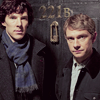 bethbethbeth: Sherlock and John at 221B Baker St (Sherlock (worldncoffee))