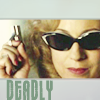 baggyeyes: Dr River Song, with text Deadly (Dr River Song)