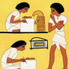 alexseanchai: Egyptian scribes (writing Egyptian scribes)