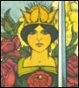 daidoji_gisei: Tarot Queen of Swords (Queen of Swords)