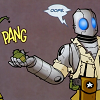 lunasa: (Atomic Robo clumsy fingers)